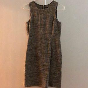 Theory Tweed Sleeveless Dress